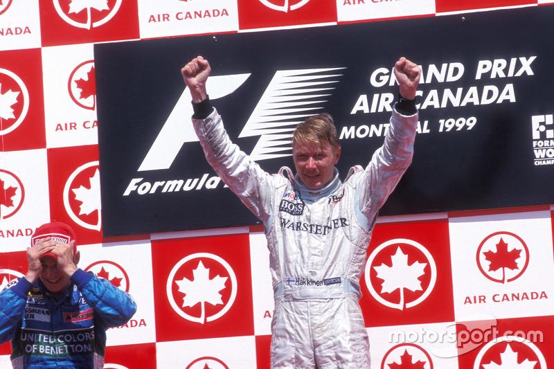 Ganador Mika Hakkinen