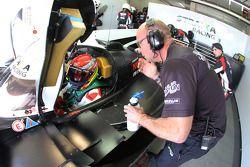 Stewart Wilde, allenatore Strakka Racing
