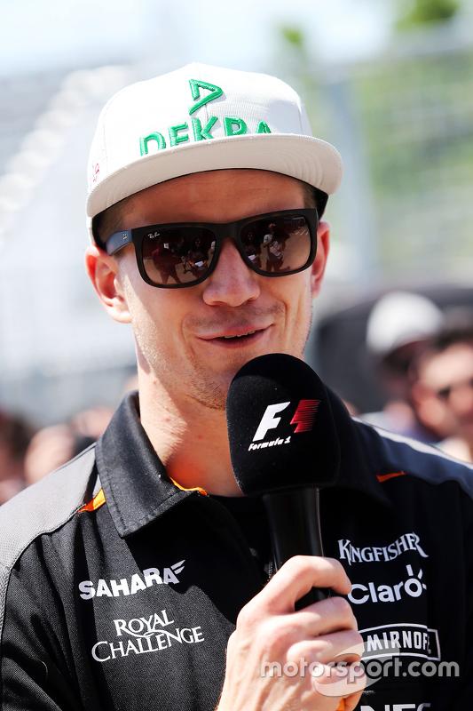 Ніко Хюлкенберг, Sahara Force India F1