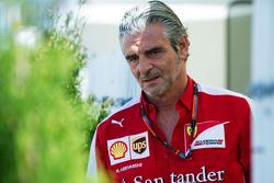 Maurizio Arrivabene, diretor Ferrari Team