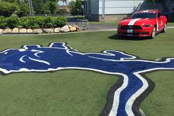 Michigan 400 Pace-Car beim Training der Detroit Lions