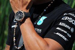L'orologio di Lewis Hamilton, Mercedes AMG F1
