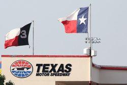 Texas Motor Speedway simbolo e bandiere