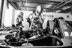 #43 Team SARD-Morand Morgan LM P2 EVO: Pierre Ragues, Oliver Webb, Zoel Amberg