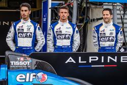 #36 Signatech Alpine A450b: Paul-Loup Chatin, Nelson Panciatici, Vincent Capillaire