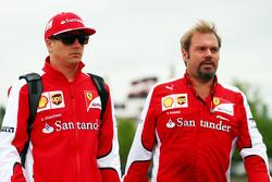 Kimi Raikkonen, Ferrari e Gino Rosato, Ferrari