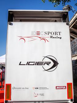 IDEC Sport Racing mit Ligier, Logo