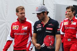 Sebastian Vettel, Ferrari ile Carlos Sainz Jr., Scuderia Toro Rosso
