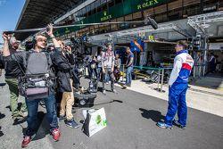 #1 Toyota Racing Toyota TS040 Hybrid: Sébastien Buemi