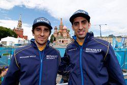 Nicolas Prost ve Sébastien Buemi, e.dams-Renault Formula E Takımı