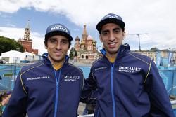 Nicolas Prost et Sébastien Buemi, e.dams-Renault Formula E Team