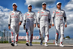 Sébastien Loeb, Jose Maria Lopez, Yvan Muller, Ma Qing Hua, Citroën C-Elysée WTCC, Citroën World Touring Car team
