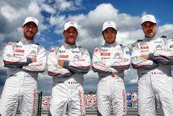 Jose Maria Lopez, Sébastien Loeb, Ma Qing Hua, Yvan Muller, Citroën C-Elysée WTCC, Citroën World Touring Car team