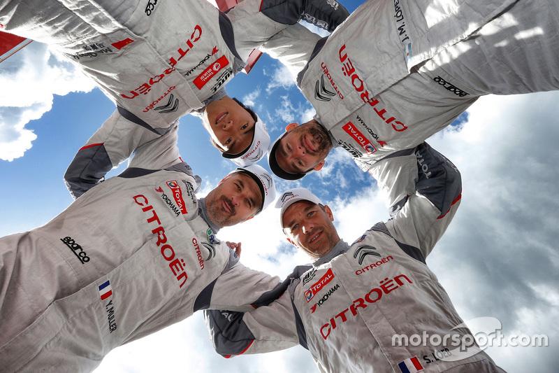 José María López, Sébastien Loeb, Yvan Muller, Ma Qing Hua, Citroën C-Elysée WTCC, Equipo Citroën World Touring Car