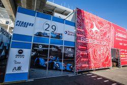 Pegasus Racing transporte y el logotipo / señalización