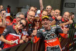 Superpole para Davide Giugliano, Ducati Superbike Team