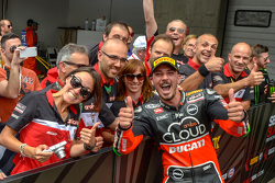 Superpole para Davide Giugliano, Ducati Superbike Team