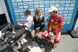 Nelson Piquet jr., China Racing, und Lucas di Grassi, Audi Sport Team Abt