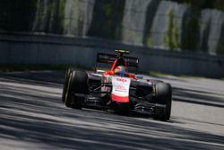 Roberto Merhi, Manor F1 Takımı