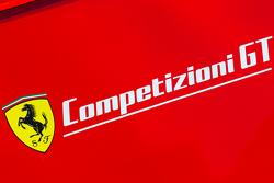 Ferrari Competizioni GT autotrasportatore e logo / simbolo