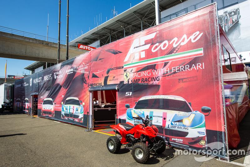 Area paddock AF Corse