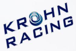 Krohn Racing transporter and logo / signage