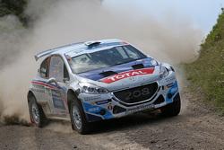 Крейг Брин и Скотт Мартин, Puegeot 208 T16, Peugeot Rally Academy