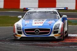 #70 GT Russian Team Mercedes SLS AMG GT3: Alexei Karachev, Bernd Schneider