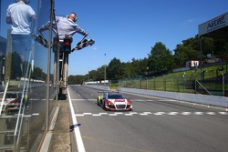 #1 Belgian Audi Club Team WRT Audi R8 LMS Ultra: Robin Frijns, Laurens Vanthoor takes the win
