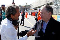 Alain Prost, e.dams-Renault Formula E Team et Jean Todt
