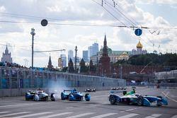 Jarno Trulli, Trulli et Antonio Felix da Costa, Amlin Aguri and Justin Wilson, Andretti Autosport