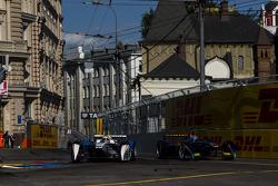 Jean-Eric Vergne, Andretti Autosport, und Sébastien Buemi, e.dams-Renault Formula E Team
