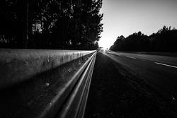 24 Ore di Le Mans, ambiente in pista al tramonto