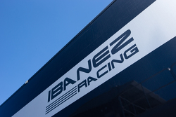 Ibanez Racing transporter and logo / signage