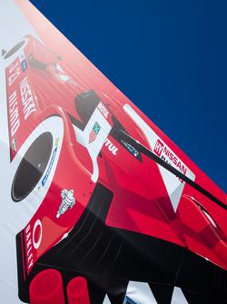 Nissan Motorsports paddock e logo / simbolo