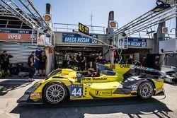 Prova Pit stop per #45 Ibanez Racing ORECA 03R
