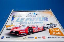 24 Hours of Le Mans billboard advertising