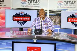Le Grand Marshal Charles Haley, joueur de NFL
