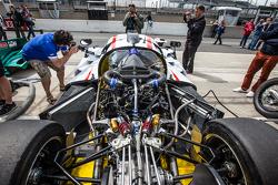 #75 Team LNT Ginetta-Juno LM P3 engine
