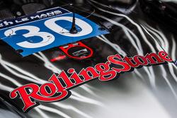 #30 Extreme Speed Motorsports Ligier JS P2 dengan sponsor Rolling Stones