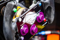 #43 Team SARD-Morand Morgan LM P2 EVO steering wheel