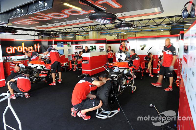 Ducati Superbike Team, Stand