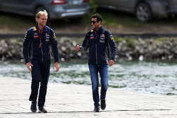 Daniel Ricciardo, Red Bull Racing with Stuart Smith, Red Bull Racing Physio