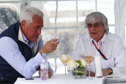 Lawrence Stroll et Bernie Ecclestone