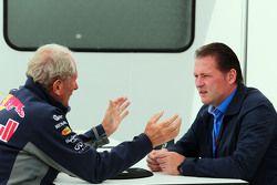 Dr Helmut Marko, Red Bull et Jos Verstappen
