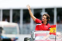 Roberto Merhi, Manor F1 Team alla parata dei piloti