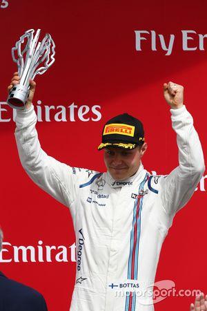 Podyum: Üçüncü Valtteri Bottas, Williams FW37
