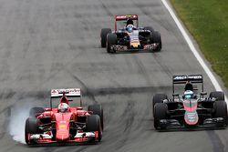 Sebastian Vettel, Scuderia Ferrari, Fernando Alonso, McLaren Honda