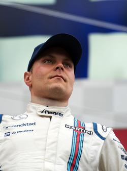 Pódio: terceiro Valtteri Bottas, Williams