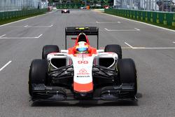 Roberto Merhi, Manor Marussia F1 Team en la parrilla